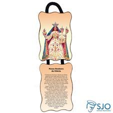 Imagem - Adorno de Porta Retangular - Nossa Senhora da Glória cód: 17721834