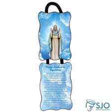 Adorno de Porta Retangular - Nossa Senhora do Equilíbrio