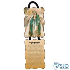 Imagem - Adorno de Porta Retangular - Nossa Senhora das Graças - Mod 1 - 18838479