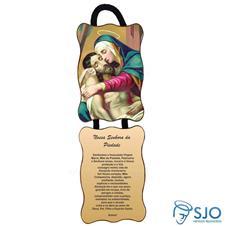 Imagem - Adorno de Porta Retangular - Nossa Senhora da Piedade cód: 11265926