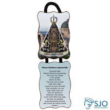 Imagem - Adorno de Porta Retangular - Nossa Senhora Aparecida - Mod. 1 cód: 13298844
