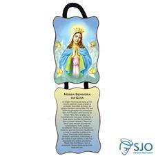 Imagem - Adorno de Porta Retangular - Nossa Senhora da Guia cód: 10014519