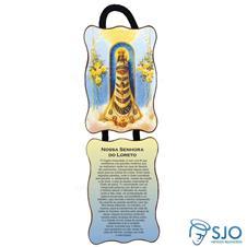 Imagem - Adorno de Porta Retangular - Nossa Senhora do Loreto cód: 12522574