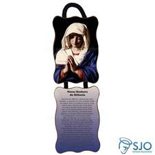 Imagem - Adorno de Porta Retangular - Nossa Senhora do Silêncio cód: 19261026
