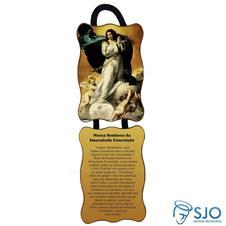 Imagem - Adorno de Porta Retangular - Nossa Senhora da Imaculada Conceição - Mod 02 cód: 14215470