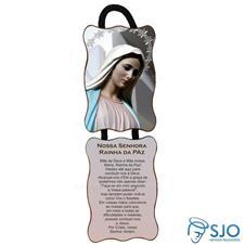Imagem - Adorno de Porta Retangular - Nossa Senhora Rainha da Paz - Mod 02 cód: 12687993