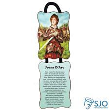 Imagem - Adorno de Porta Retangular - Santa Joana D'Arc cód: 10267117