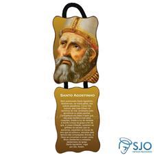 Imagem - Adorno de Porta Retangular - Santo Agostinho cód: 10795771