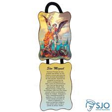 Imagem - Adorno de Porta Retangular - São Miguel cód: 19914889