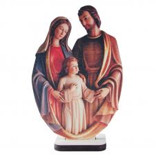 Imagem - Adorno de Mesa Sagrada Família em MDF - Mod. 2 - 14277616