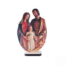 Adorno de Mesa Sagrada Família em MDF - Mod. 3