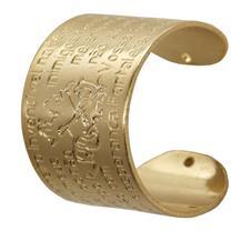 Anel de São Jorge Regulável Folheado a Ouro
