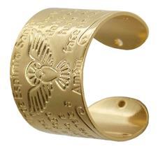 Imagem - Anel do Espirito Santo Regulável Folheado a Ouro cód: 11340236