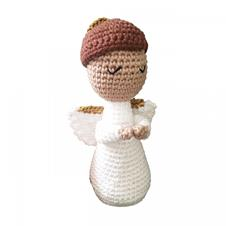 Imagem - Boneco de Crochê - Anjo da Guarda cód: BCAG