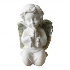 Imagem - Anjo da Guarda de Resina - Branca cód: RB82345-1