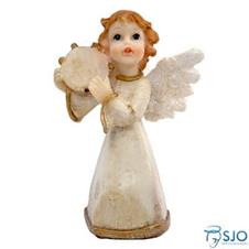 Imagem - Anjo de Resina com Pandeiro - 10 cm - 10648630