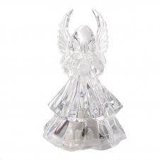 Imagem - Anjo de Acrílico com Luz - 8 cm - 14938882