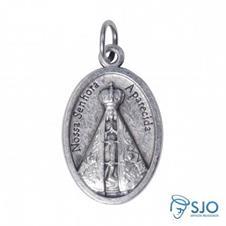 Imagem - Medalha Oval Nossa Senhora Aparecida - 13059316