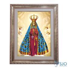 Imagem - Quadro - Nossa Senhora Aparecida - Modelo 2 - 52 cm x 42 cm - 12698349
