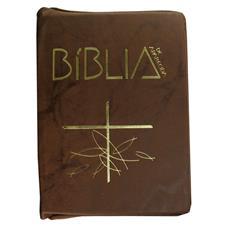 Imagem - Bíblia de Aparecida com Capa de Zíper cód: BACZ