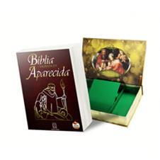 Bíblia Sagrada de Aparecida - Presente de Natal - Luxo