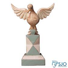 Imagem - Adorno Divino Espírito Santo no Pedestal - 21 cm cód: 14782230