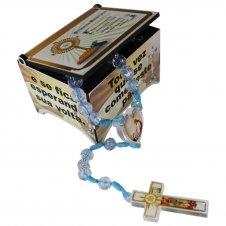 Imagem - Caixinha com Terço Primeira Eucaristia cód: TR128A