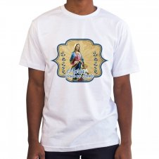 Imagem - Camiseta Masculina Branca Maria Passa na Frente cód: 514270991755