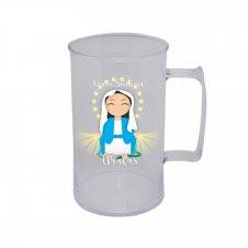 Imagem - Caneca Acrílica de Nossa Senhora das Graças Infantil cód: CANSGI
