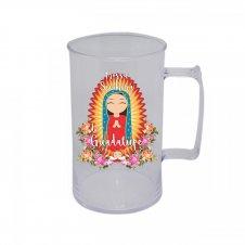 Imagem - Caneca Acrílica de Nossa Senhora da Guadalupe Infantil cód: CANSGI2