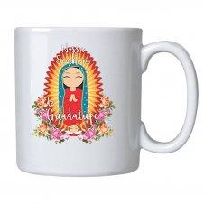 Imagem - Caneca de Cerâmica Nossa Senhora de Guadalupe Infantil cód: CCNSGI