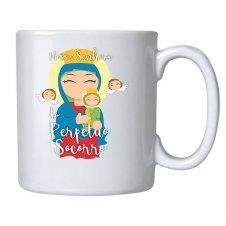 Imagem - Caneca de Cerâmica Nossa Senhora do Perpétuo Socorro Infantil cód: CCNSPSI