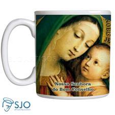 Imagem - Caneca Nossa Senhora do Bom Conselho com Oração cód: 18963491
