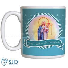 Caneca Nossa Senhora dos Navegantes com Oração