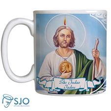 Imagem - Caneca São Judas Tadeu com Oração cód: 14265783