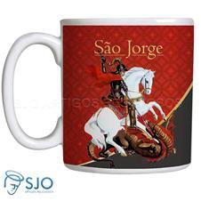 Imagem - Caneca São Jorge com Oração - 13615931