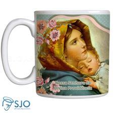 Imagem - Caneca Nossa Senhora da Divina Providência com Oração cód: 14826950