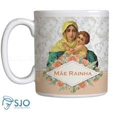 Imagem - Caneca Mãe Rainha com Oração - 11661969