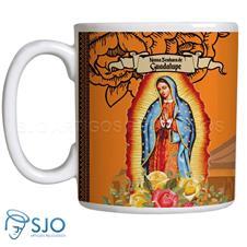 Imagem - Caneca Nossa Senhora de Guadalupe com Oração - 13757342
