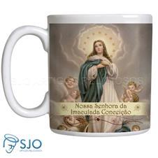 Imagem - Caneca Nossa Senhora da Imaculada Conceição cód: 19192373