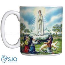 Imagem - Caneca Nossa Senhora de Fátima com Oração - Mod. 2 - 11231515
