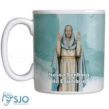 Imagem - Caneca Nossa Senhora do Equilíbrio com Oração cód: 17134448