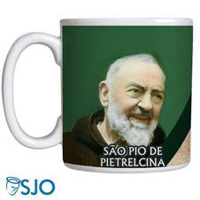 Imagem - Caneca São Pio de Pietrelcina cód: 10212292