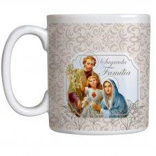 Imagem - Caneca Sagrada Família com Oração cód: 12250400