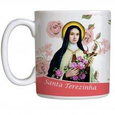 Imagem - Caneca Santa Terezinha com Oração - 13029846