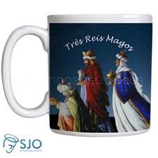 Imagem - Caneca Três Reis Magos com Oração cód: 12332278