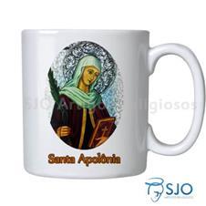 Imagem - Caneca Santa Apolônia com Oração cód: 10542078