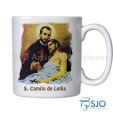 Caneca São Camilo de Lellis com Oração