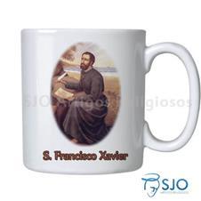 Imagem - Caneca São Francisco Xavier com Oração cód: 17404799