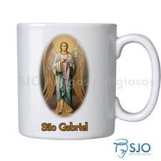 Caneca São Gabriel com Oração